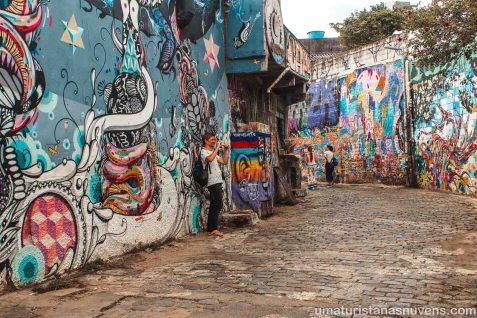 Beco do Batman em São Paulo - grafite e arte de rua16