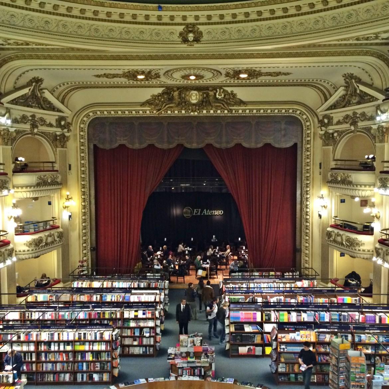 livrarias em Buenos Aires - El Ateneo