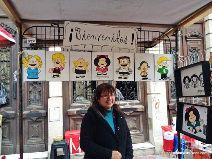 Feira de San Telmo em Buenos Aires