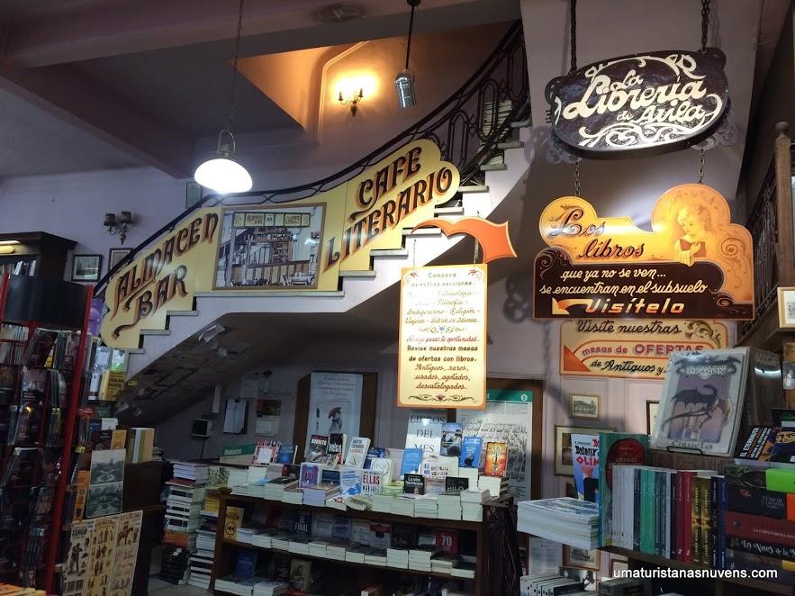 Livrarias em Buenos Aires - Libreria de Avila