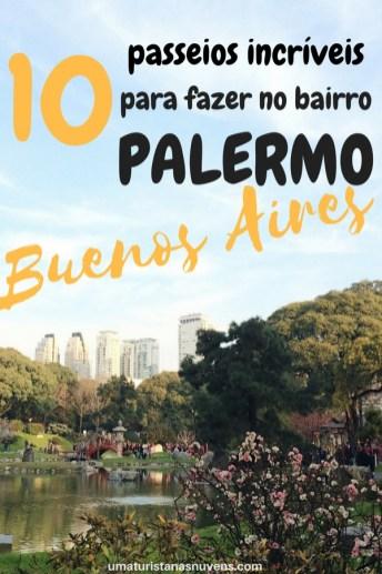 O que fazer no bairro Palermo em Buenos Aires