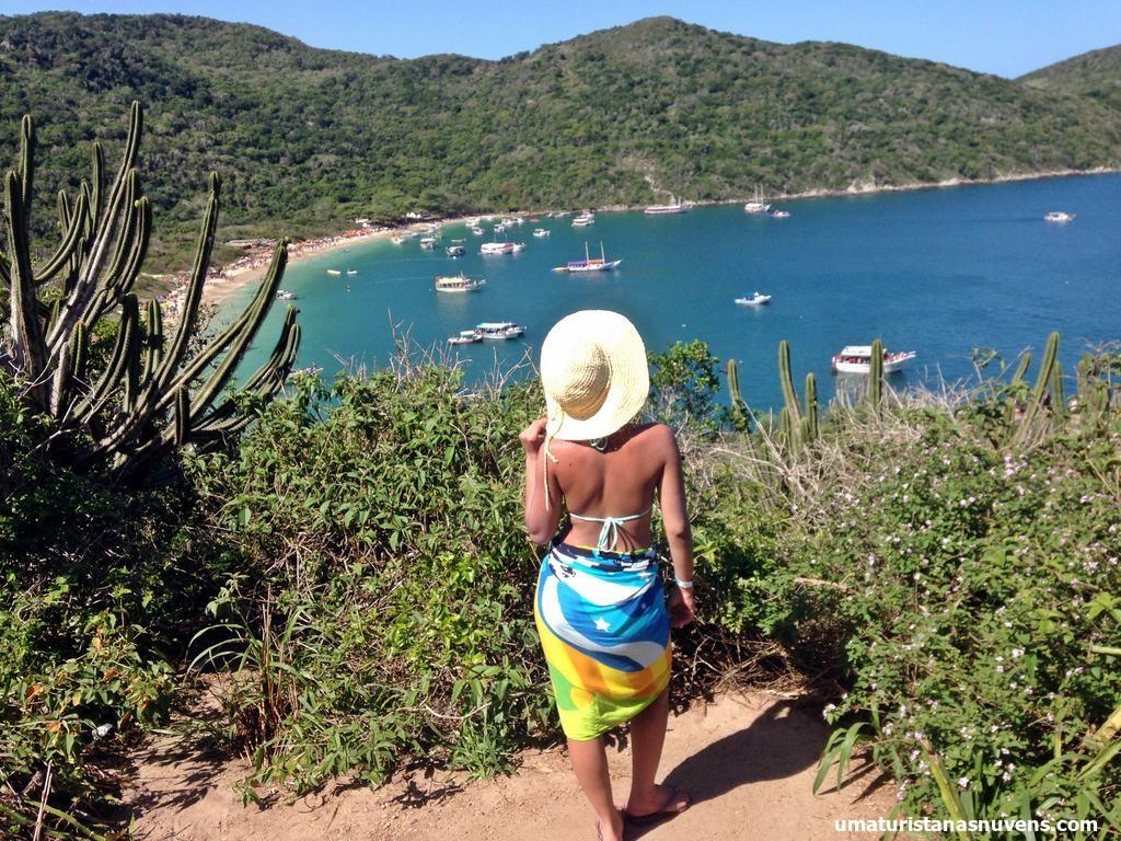 mirante Praia do Forno em Arraial do Cabo