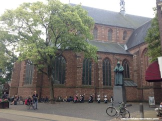 igreja gótica em Naarden - Holanda3
