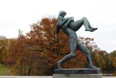 Vigeland Park - O que fazer em Oslo - Noruega
