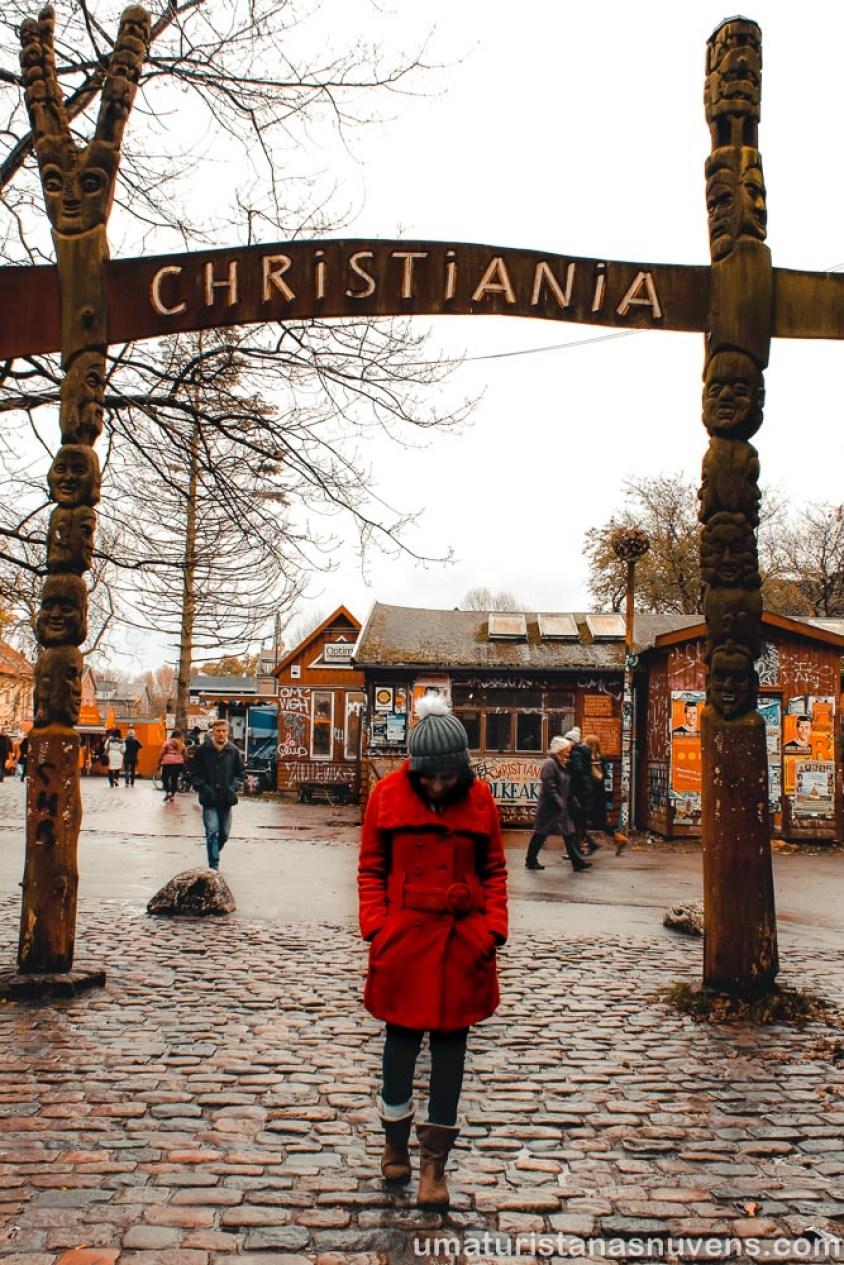 O que fazer em Copenhague - Dinamarca - Christiania