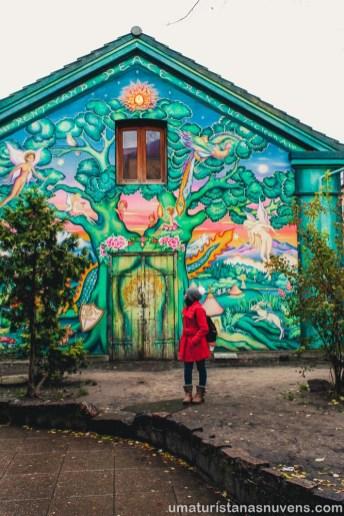 O que fazer em Copenhague - Dinamarca - grafite no Christiania _