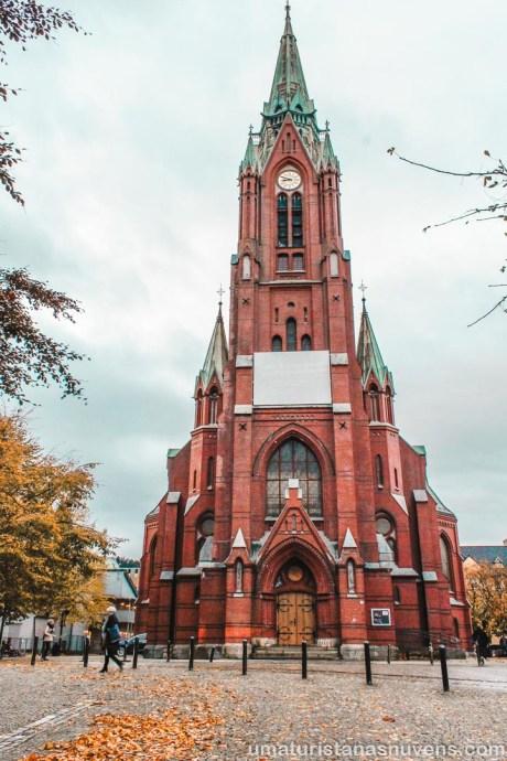O que fazer em Bergen - Igreja de São João - Noruega