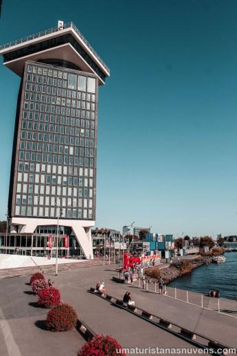 Lugares para ver Amsterdam do alto - A´Dam Lookout