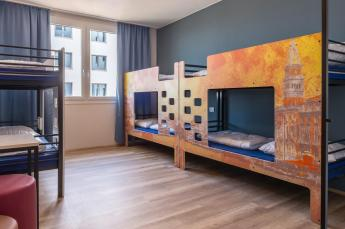 Onde ficar em Veneza - AO Hotel Venezia Mestre - quarto compartilhado