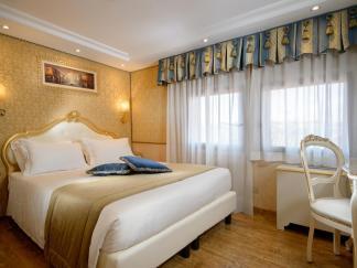 Onde ficar em Veneza - Hotel Olimpia - quarto