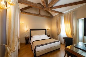 Onde ficar em Veneza - Hotel Paganelli - quarto