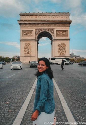 Paris - Arco do Triunfo - Viagens 2018