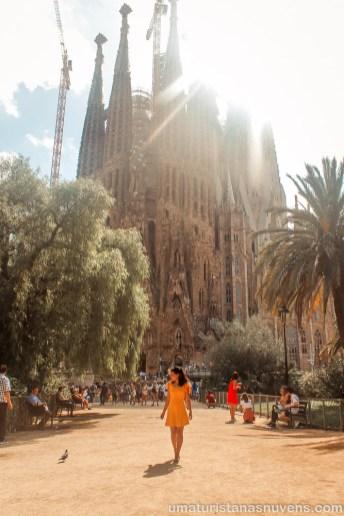 Viagens de 2018 - Barcelona - Sagrada Família