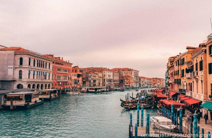O que fazer em Veneza - Grande Canal