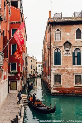 O que fazer em Veneza - Itália - gôndolas1