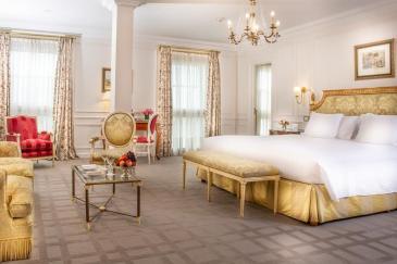 onde ficar em Buenos Aires - quarto do Hotel Alvear Palace