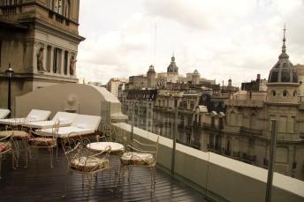 onde ficar em Buenos Aires - terraço hotel Tango de Mayo