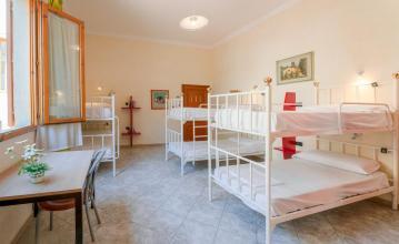 Onde ficar em Florença - Hostel Archi Rossi quarto compartilhado