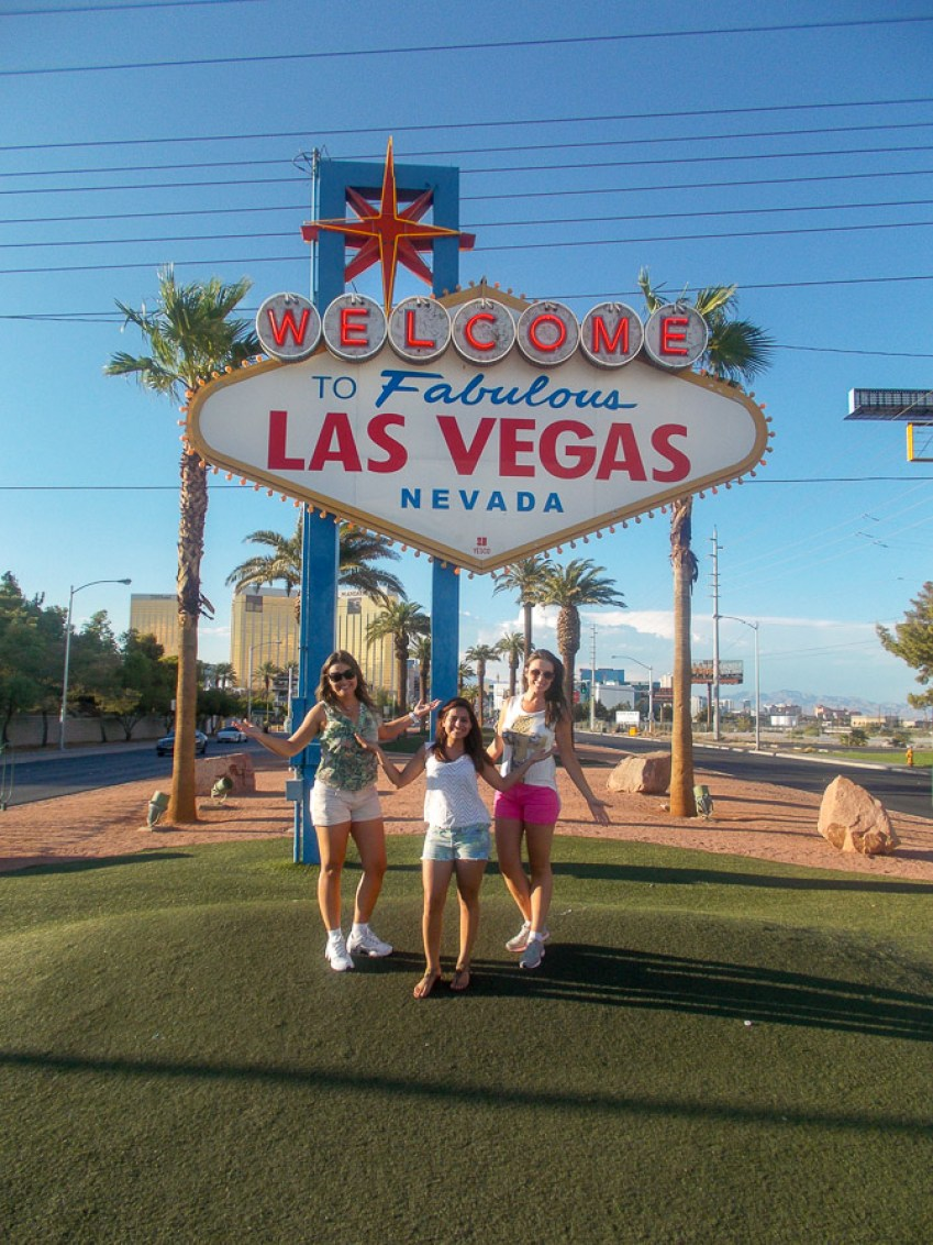O que fazer em Las Vegas - foto com o letreiro
