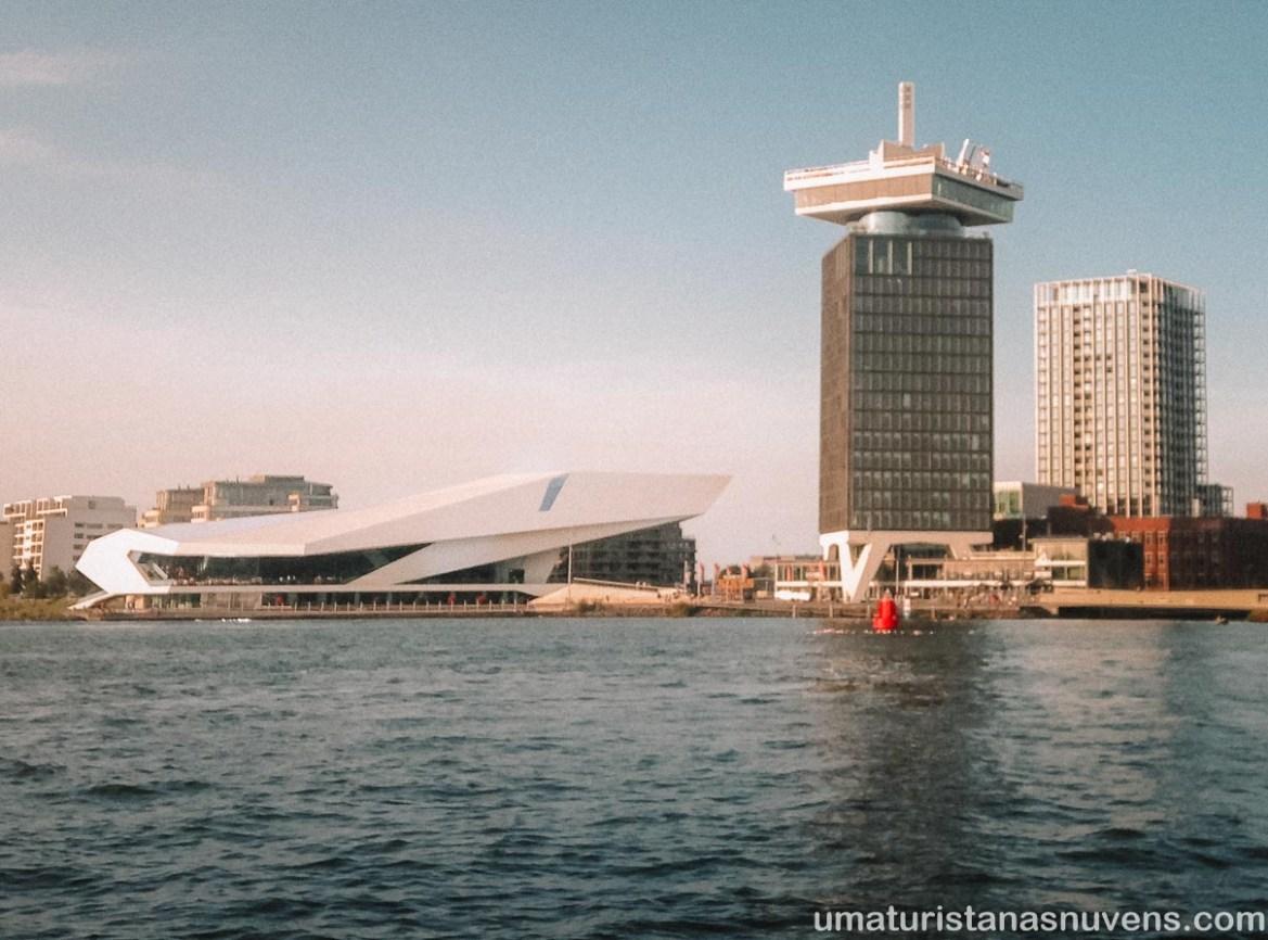 Passeios gratuitos em Amsterdam - Eye Film Museum