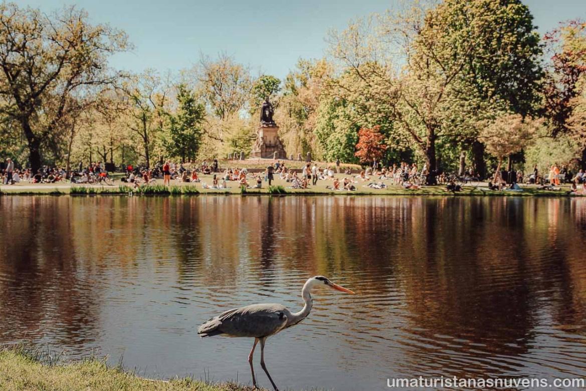 Passeios gratuitos em Amsterdam - Voldenpark