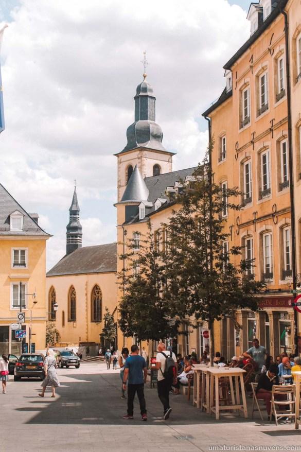 O melhor de Luxemburgo em 1 dia - o que fazer - Igreja de St. Miguel