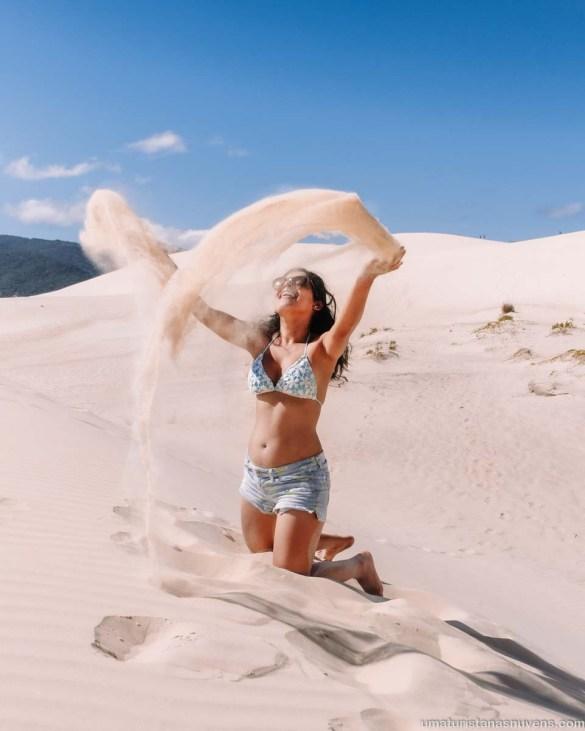Dunas da Praia da Joaquina - o que fazer em Florianópolis