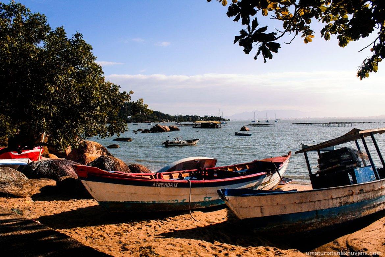 Praia Santo Antônio de Lisboa em Florianópolis