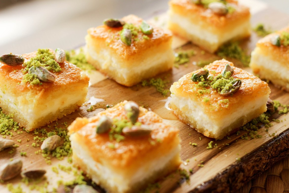 doces ao redor do mundo - baklava