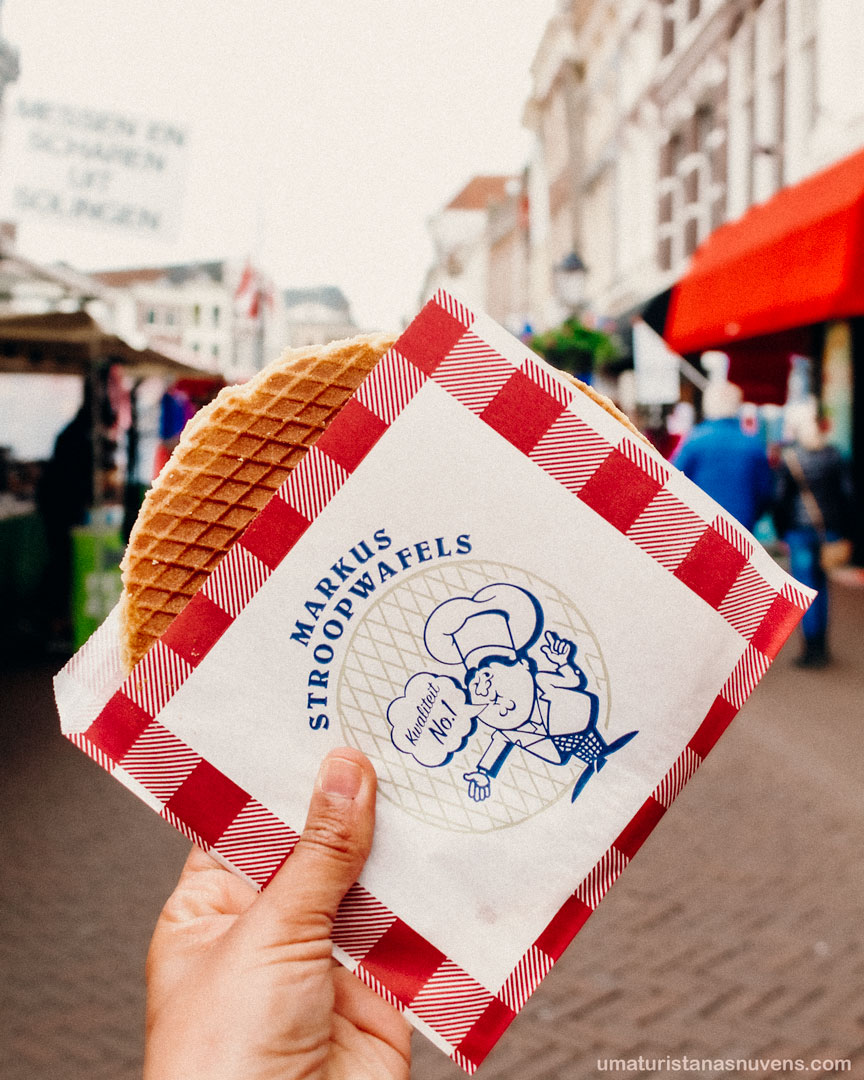 doces ao redor do mundo - stroopwafel