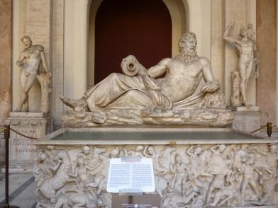 Escultura Divinità fluviale ( Arno)