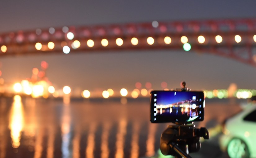 ケータイオタクキモッ‼︎ 大阪のナナガンでカメラテスト