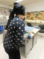 Arbeit in der Werkstätte