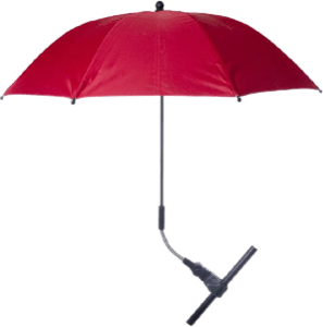 Red Baby Pram Umbrella
