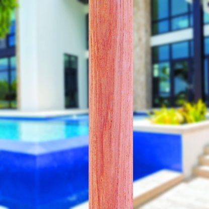 532tk pole for Galtech 532 9′ Deluxe Round Teak Wood Umbrella