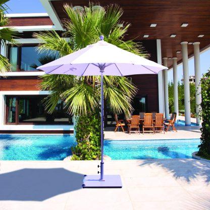 Galtech 722 7.5′ Round Deluxe Commercial Use Market Umbrella