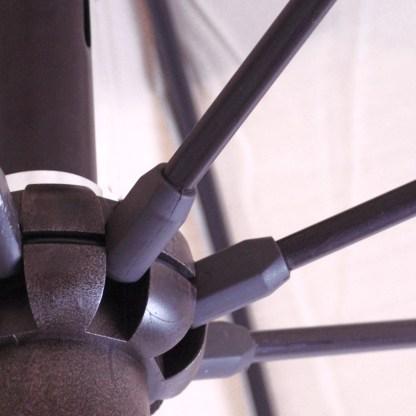 Fiberglass ribs of Galtech 725 7.5′ Round Commercial Marketa