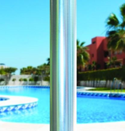 Single Pole for Galtech 732 9′ Round Deluxe Commercial Market Umbrella