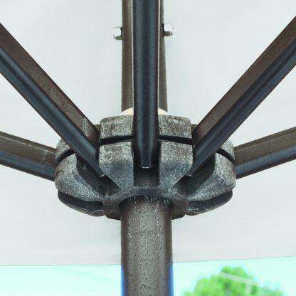 Hub for Galtech 772 3.5′ x 7′ Half Wall Market Umbrella