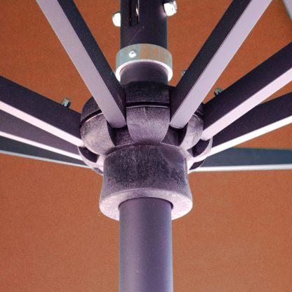 Galtech 779 8.5'x11′ Oval Deluxe Auto Tilt Umbrella Hub