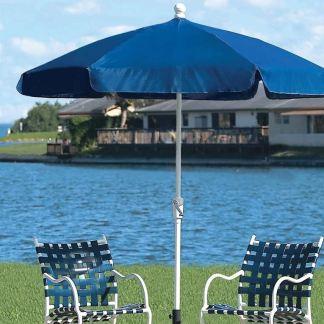 Fiberbuilt garden umbrella