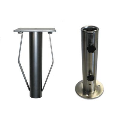 Center pole in ground mount system