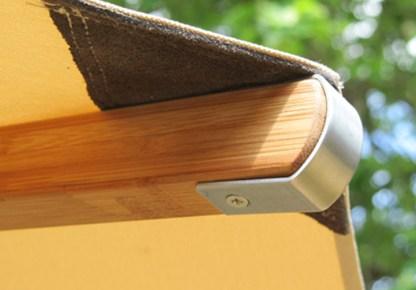 Levante Bamboo Patio Umbrella