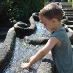 cascata d'acqua Villa Lante