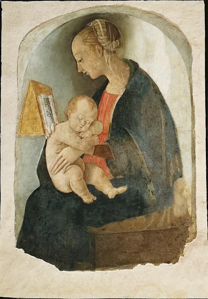 La Madonna di casa Santi, Urbino