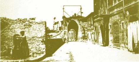 Terni Porta Sant'Angelo, via Cavour