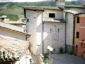 Preci, la chiesa di Santa Maria della Pietà