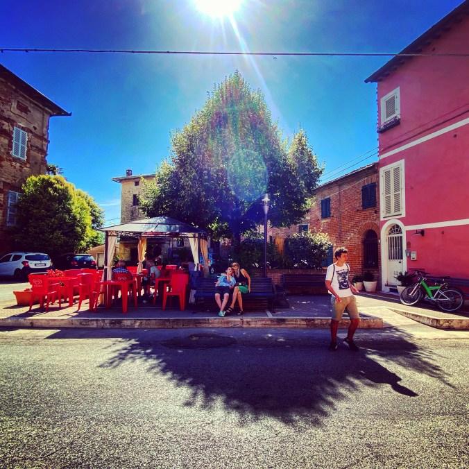 Morning coffee in Piazza Gioiella
