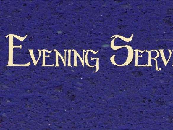 Evening Services Begin This Sunday!