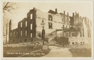 Ruins of the barracks